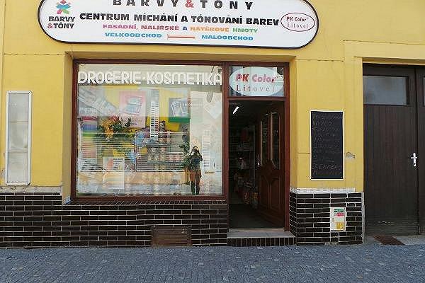 Prodejna Drogerie v Litovli